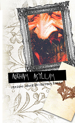 Arkham Asylum (comic book cover)