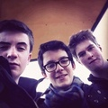 Asa Butterfield with friends!