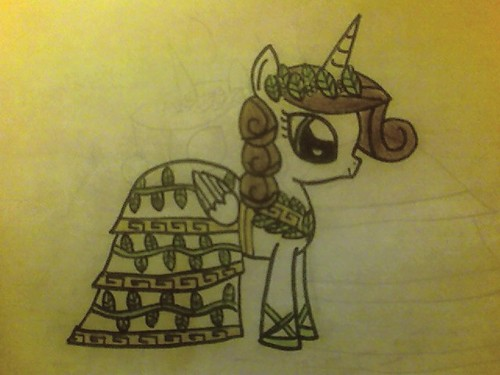 Athena as a gppony, pony