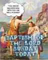 BAPTISM OF THE LORD - god fan art