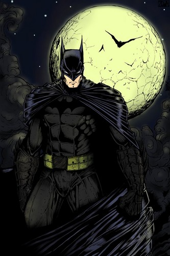 Batman wallpaper with anime called BATMAN