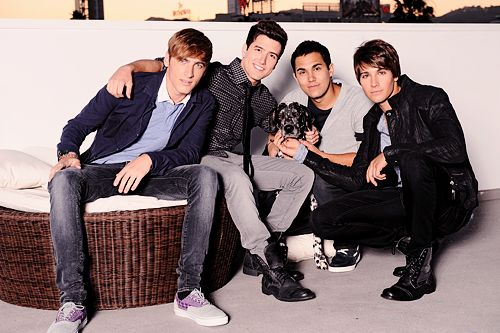 BTR with a dog