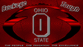 BUCKEYE TOUGH OHIO STATE FOOTBALL