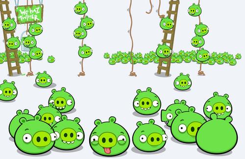 Bad Piggies We Haz Twitter
