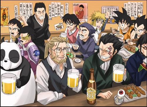Bar anime