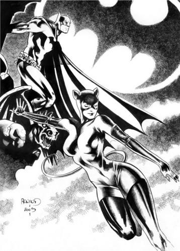 ব্যাটম্যান and Catwoman