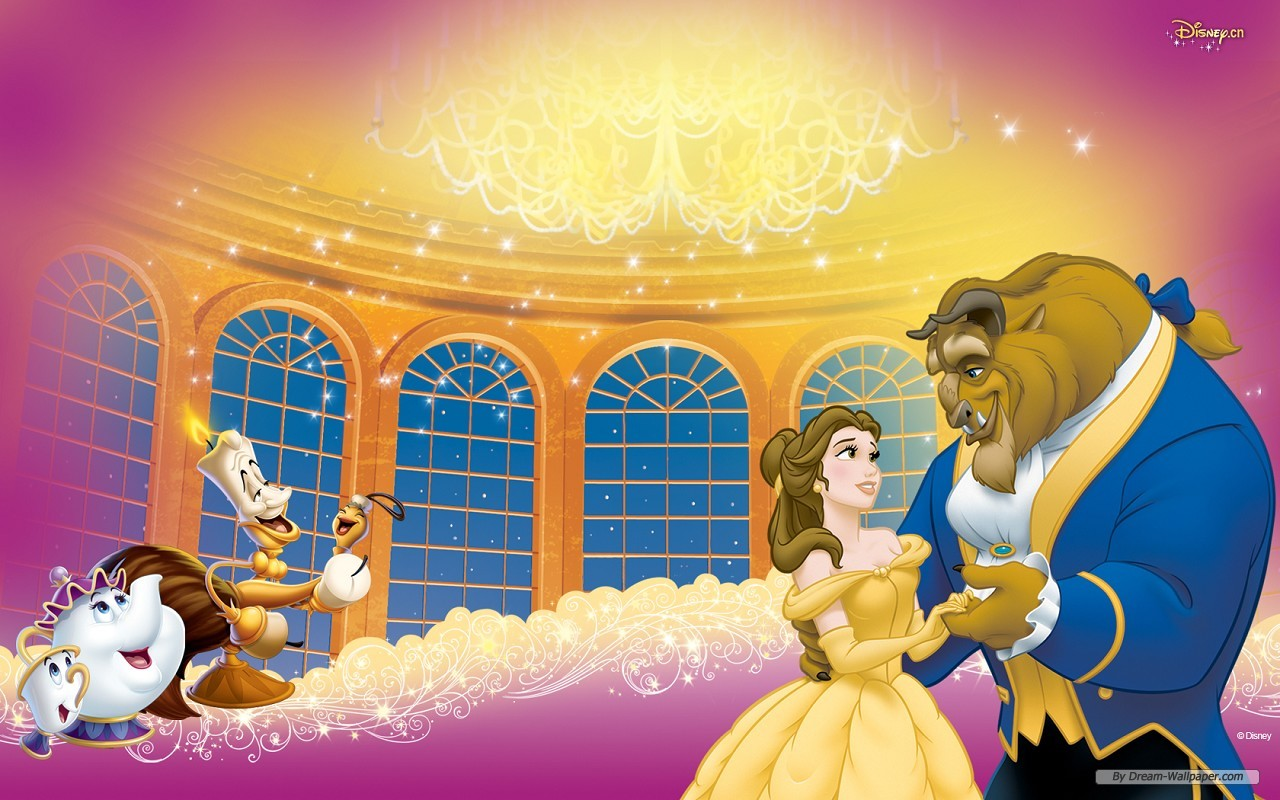 Beauty And The Beast Wallpapers Wallpapers Sinaga