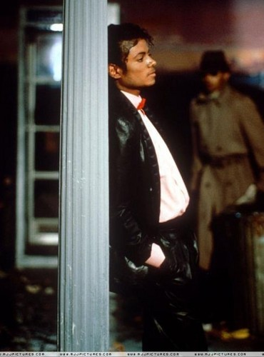 "Behind The Scenes In Making Of ""Billie Jean"""