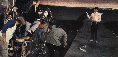 Behind the scenes of ''Billie Jean''