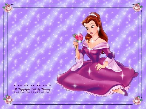 Belle and Pocahontas wallpaper entitled Belle