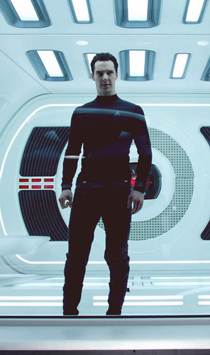 Benedict Cumberbatch In étoile, star Trek