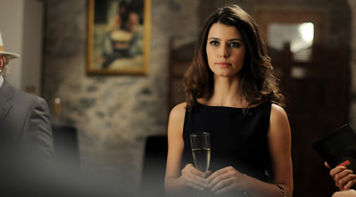 Turkish Actors and Actresses wallpaper probably containing a business suit and a portrait entitled Beren Saat  - İntikam