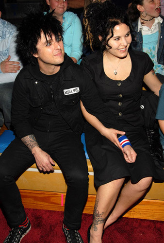 Billie Joe Armstrong w/ Adrienne Armstrong