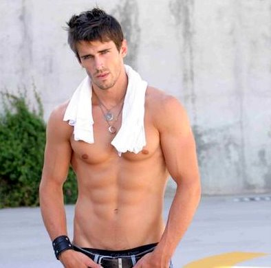 Hottest Actors wallpaper probably with a hunk, a six pack, and skin called Brandon Beemer Shirtless <3