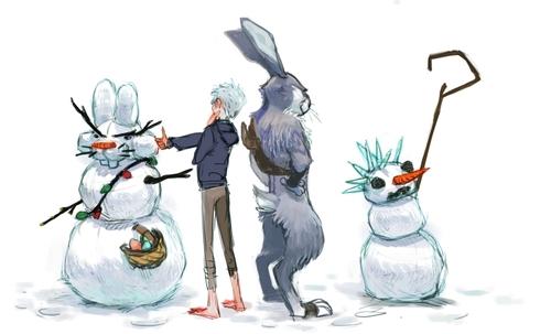 jack frost and bunnymund yaoi - photo #48