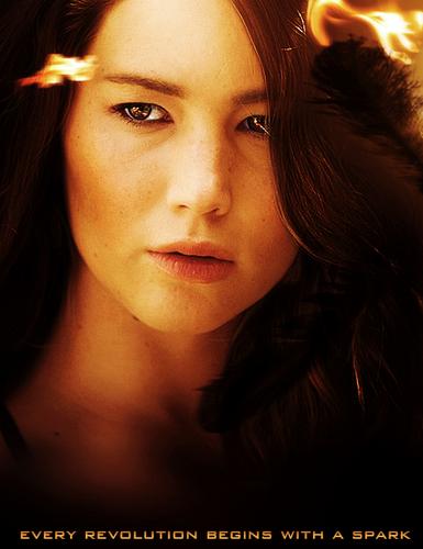 Catching Fire character poster: Katniss Everdeen ...