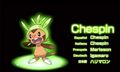Chespin - pokemon-x-and-pokemon-y-version photo
