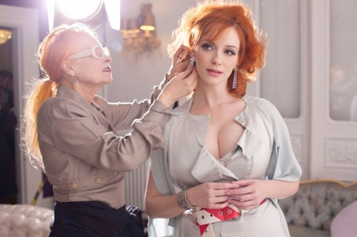 Christina Hendricks wallpaper probably containing a portrait called Christina Hendricks