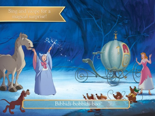 cenicienta Deluxe story book
