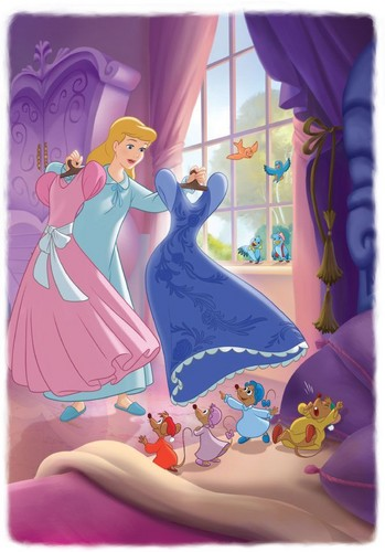 Childhood Animated Movie Heroines wallpaper probably with anime called Cinderella