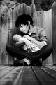 Colin With a Baby - merlin-on-bbc photo