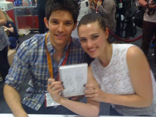 Colin and Katie Comic Con 2012
