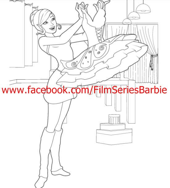 Barbie Movie Coloring Pages : Coloring pages barbie movies photo  fanpop