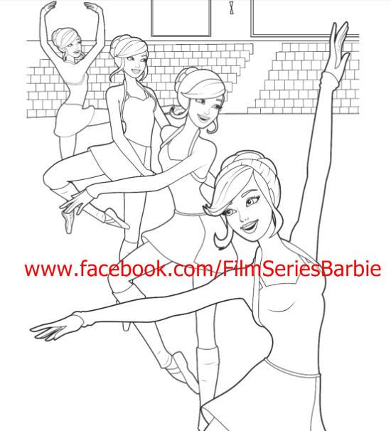 barbie coloring pages 2006 - photo#24