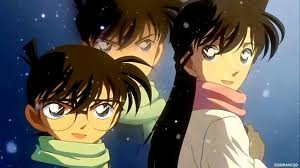 Shinichi Kudo and Ran Mouri wallpaper containing anime called DC