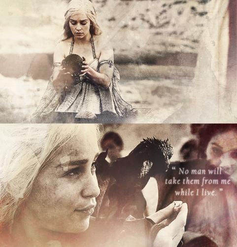 Daenerys + Drachen
