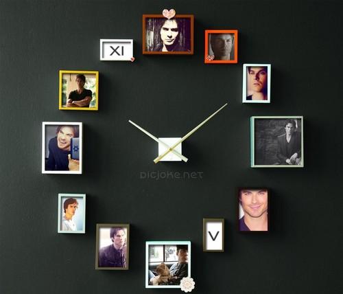 Damon Salvadore Clock