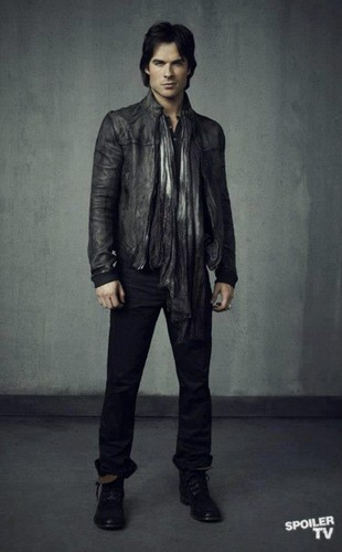 Damon Salvatore season 4 promotional fotografia