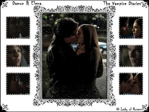 Damon and Elena VD