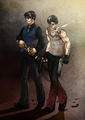 Dante and Vergil - devil-may-cry-5 fan art