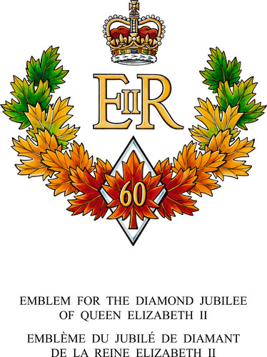Diamond Jubilee of 퀸 Elizabeth II emblem
