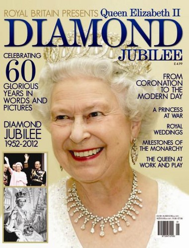 Queen Elizabeth II wallpaper possibly containing a portrait called Diamond Jubilee of Queen Elizabeth II