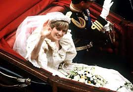 Diana On Her Wedding день