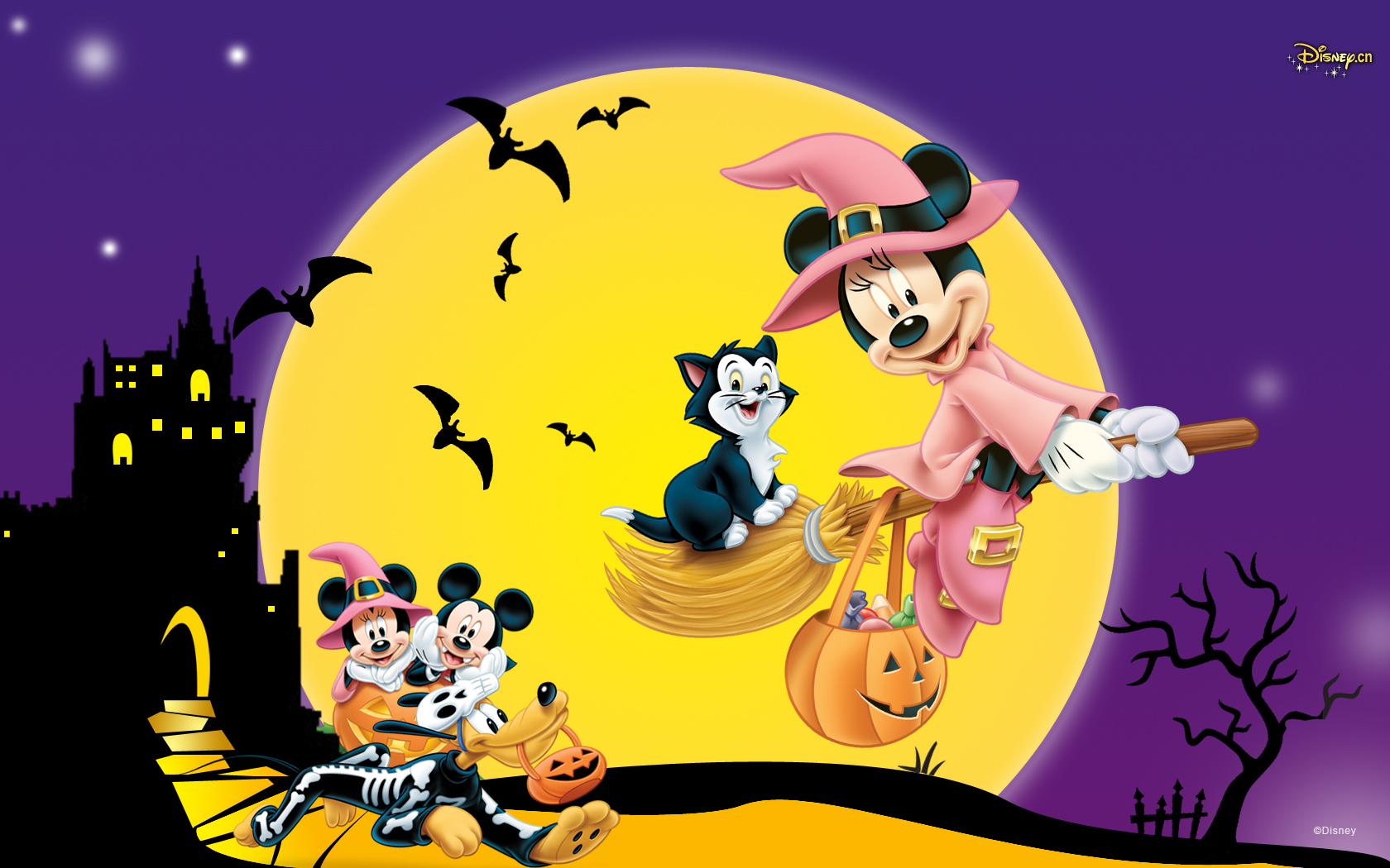 Sites Of Great Wallpapers images Disney Halloween HD ...