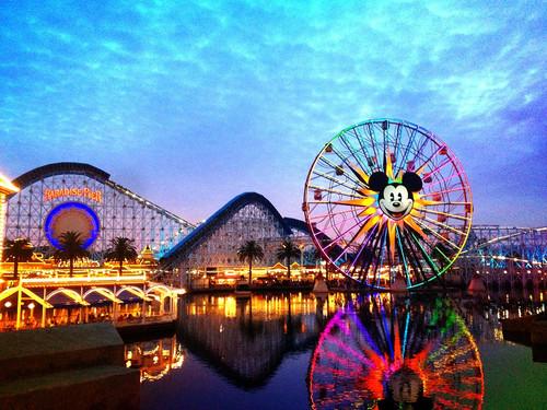 Disneyland Paradise Pier