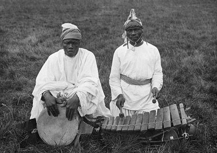 Djembe and balafon in Nigeria