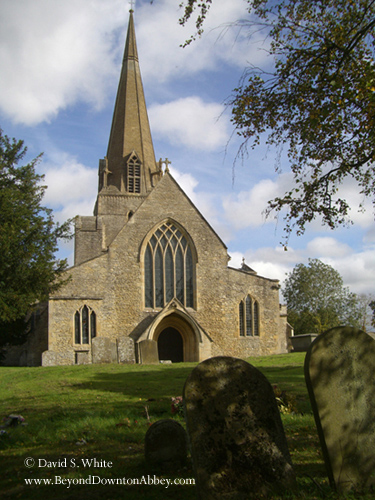 Downton village church (Bampton Oxfordshire)