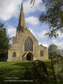 Downton village church (Bampton Oxfordshire) - downton-abbey photo