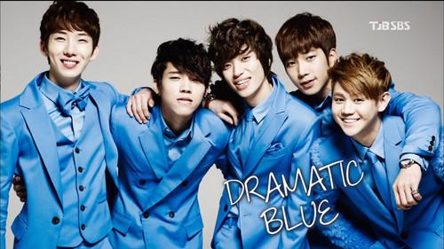 Dramatic Blue