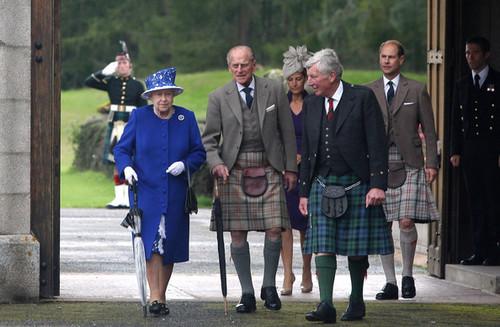 Duke of Edinburgh Hospitalised