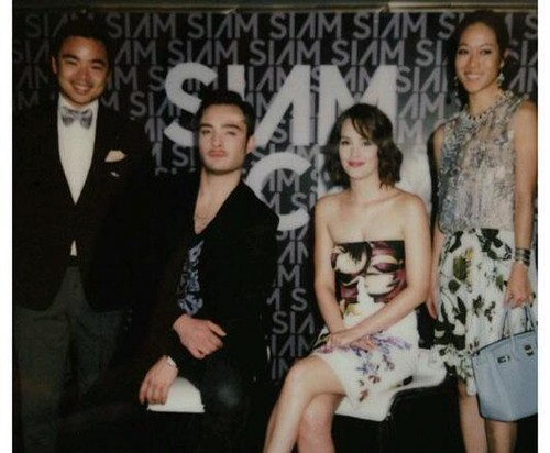 ED WESTWICK & LEIGHTON MEESTER at SIAM CENTER GRAND OPENING EVENT