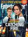 EW Catching Fire cover release! - peeta-mellark-and-katniss-everdeen photo