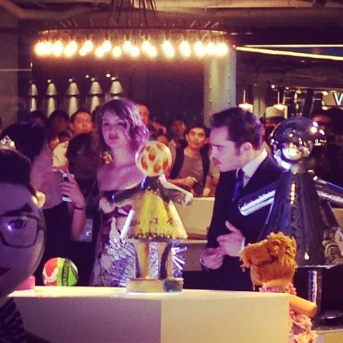 Ed and Leighton @ Siam Center ♥