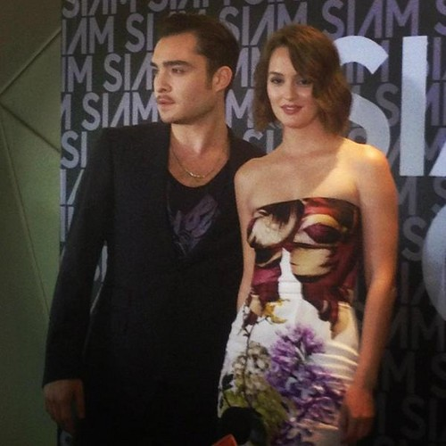 Ed at Siam Center Grand Opening Event