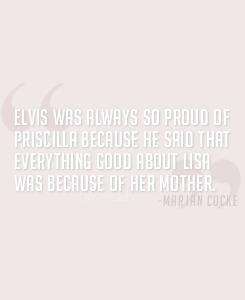 Elvis about his ladies