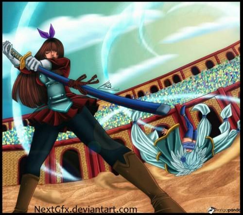 Kagura vs Yukino